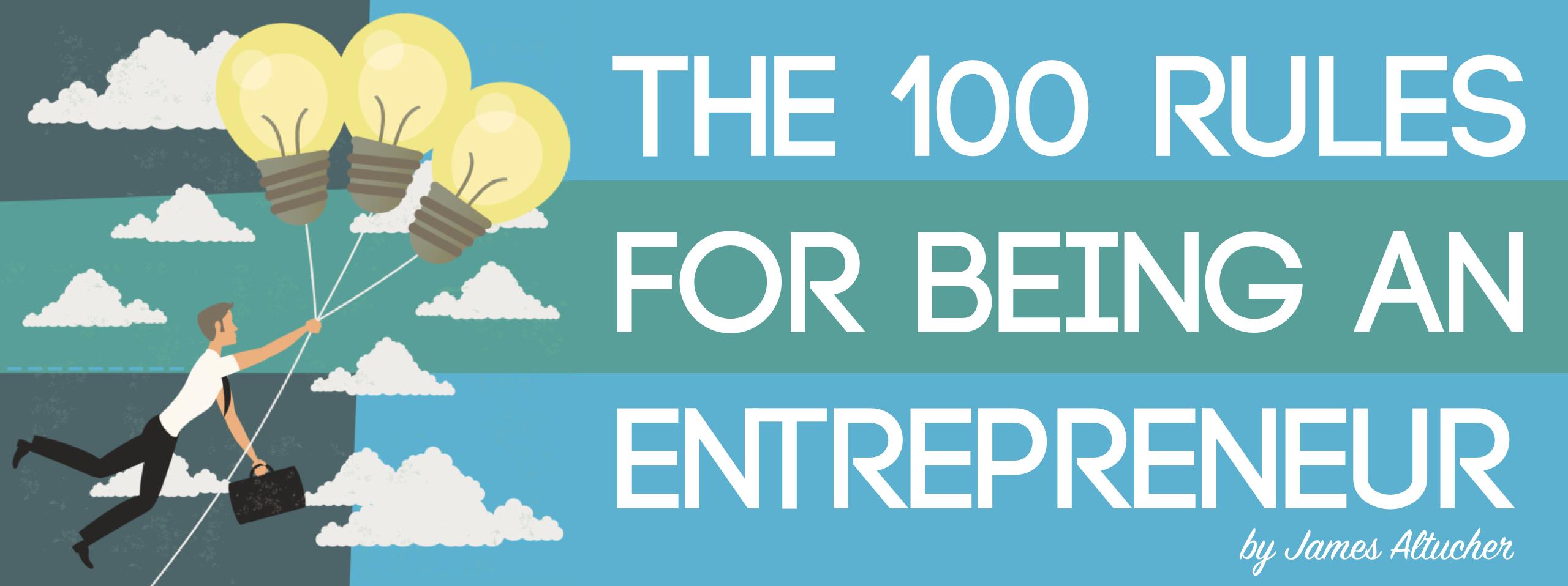 100 quy tắc cho entrepreneurs