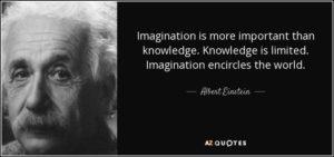 Einstein: Trí tưởng tượng quan trọng hơn kiến thức
