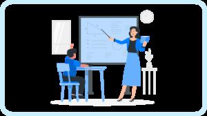 Những lợi thế của việc có giáo viên trực tiếp