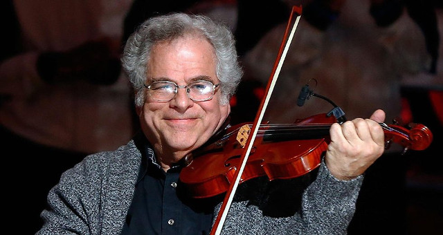 """Yes, I have"": a story about an encounter with Itzhak Perlman"